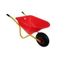 Talen Tools Kinderkruiwagen geel- rood