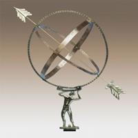 KS Verlichting Z1 Hercules zonnewijzer