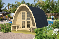 Tuindeco Pod Camping-Office Dubbel