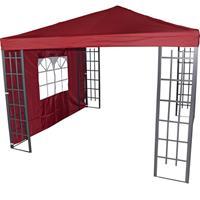 Maxtuinmeubel zijwand paviljoen Royal - bordeaux rood
