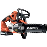 Black & Decker - Cordless Chainsaw, 18 V, 2 Ah (GKC1820L20)