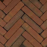 Gardenlux 60 stuks! Art brick fabriti rd/br 5x20x6.5 cm