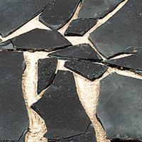 Gardenlux Flagstones zwart pearl m2