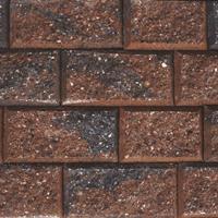Gardenlux 35 stuks! Crack stack rood/zwart 15x20x10 cm