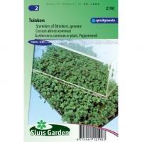 Tuinkers zaden gewone lepidium sativum