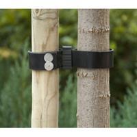 Nature Boomband Zwart 90 x 3.8 cm