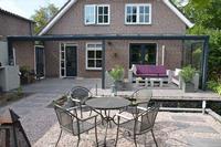 Aluxe Topline veranda met platen 6000x3000