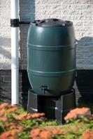 Kunststof regenton, 210 Liter