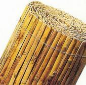 Gespleten bamboematten 2x5m
