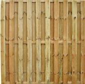 Schutting tuinscherm Multi 19 planks 180x180cm
