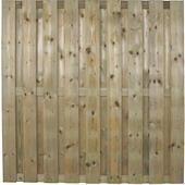 Schutting tuinscherm 15 planks 180x180cm
