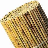 Bamboematten tuinscherm bamboe 2x5m