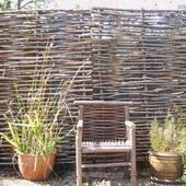 Hazelaarscherm tuinscherm hazelaar 180x180cm