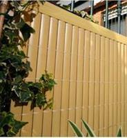 Tuinscherm pvc tuinafscheiding bamboe 2x5m