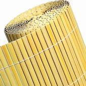 Tuinscherm tuinafscheiding kunststof bamboe 150x500cm