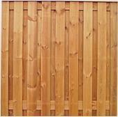 Schutting tuinscherm zichtdicht 21 planks 180x180cm RVS