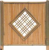 Tuinscherm bamboescherm bamboe Beijing 180x180cm