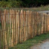 Hekwerk van kastanjehout schapenhek 1,85x5m
