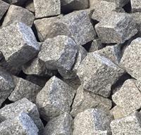 Kinderkopjes kasseien grijs graniet 1000kg / 5,5m2