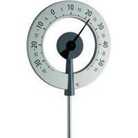 TFA Buitenthermometer aluminium Lollipop antraciet 95 cm