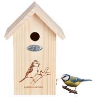 Bestforbirds Nestkast Pimpelmees Silhouet - Nestkasten - Hout