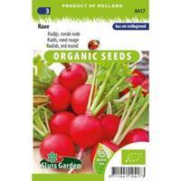 Sluis Garden Radijs (ronde rode) biologische zaden - Raxe