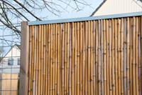 Nature Bamboemat-schutting montageset verzinkt staal
