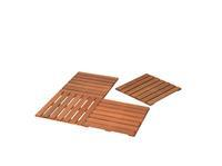 Woodvision Hardhouten reliëftegel 50 x 50 cm