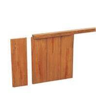 Woodvision Geschaafd hardhouten damwandregel