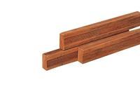 Woodvision Hardhouten azobe regel geschaafd 45x95 300cm