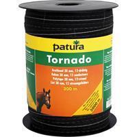 Patura tornado lint 38mm bruin, 200m rol