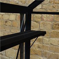 Royal Well Birdlip Broadway - Kweekschap - Zwart - Kaslengte x 18,2cm