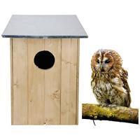 Bestforbirds Bosuilenkast - Nestkasten - 60 x 48 x 48 cm