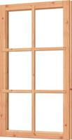 Trendhout Vast raamkozijn kozijn 726 x 1268 mm
