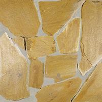Flagstones Golden kwartsiet 3-4cm