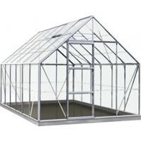 serre Intro Grow Oliver gehard glas & aluminium grijs 9,9 m²