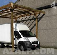 Carport basis 4x5 hoogte 4m