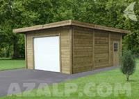 Carport combinatie 5064X7064mm garage