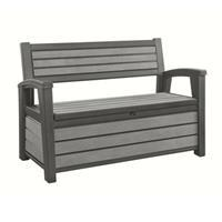 Keter Hudson Bench Box Antraciet