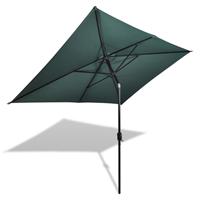 VidaXL Parasol rechthoekig 200x300 cm groen
