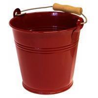 express Zinken emmer 4 liter wijnrood