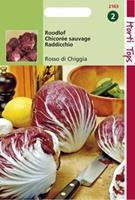 Hortitops Roodlof Cichorium intybus Radicchio Rosso Di Chioggia - Groentezaden - 3gram