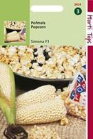 Hortitops Pofmais Zea mays Popcorn Plomyk Type Peppi - Groentezaden - 5gram