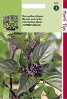 Hortitops Basilicum Ocimum basilicum purpurascens Kaneelsmaak - Kruidenzaden - 1,5gram