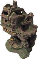 Gebr. de Boon Polyresin ornament achterdeel schip 20x15x23 cm Gebr de Boon