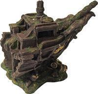 Gebr. de Boon Polyresin ornament voorsteven schip 23x15x20 cm Gebr de Boon