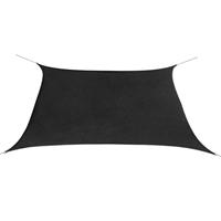 vidaXL Zonnescherm vierkant 3,6x3,6 m oxford stof antraciet