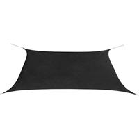 VidaXL Zonnescherm rechthoekig 2x4 m oxford stof antraciet