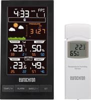 Digitaal draadloos weerstation Eurochron EFWS S250 Voorspelling voor 12 tot 24 uur