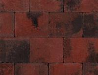 Kijlstra Trommelkassei 20x15x6 Rood/zwart
